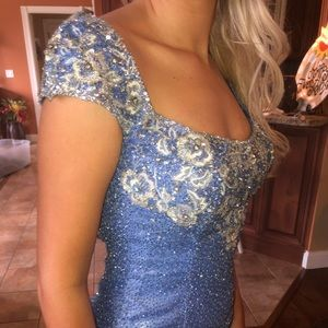 SIZE 0, custom gown never worn